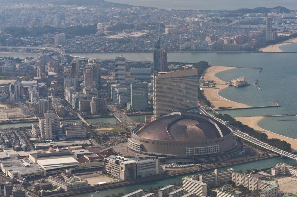 fukuoka_seaside_momochi_aerial_shoot